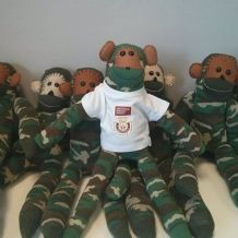 Victoria Cross Trust Sock Monkey